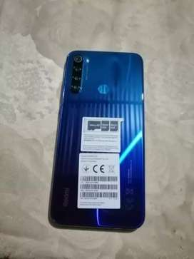 Se vende redmi note 8 negociable