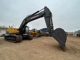 Excavadora Volvo EC380DL Importada 2012 línea auxiliar