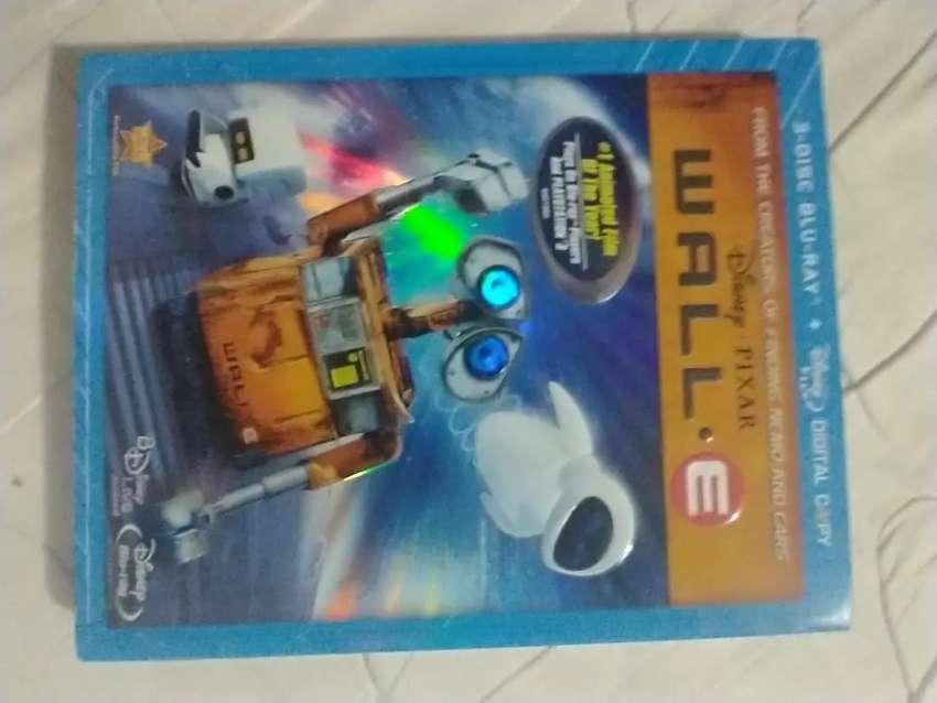 WALL-E BLU RAY EDICIÓN DE 3 DISCOS ORIGINAL (U.S.A) (usado)por favor leer la descripción