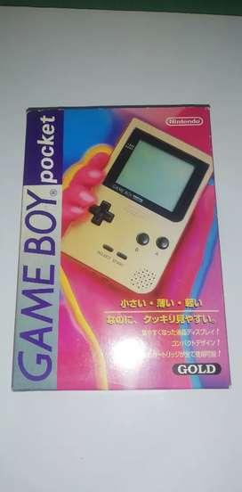 Gameboy Pocket Japonés en caja con manuales