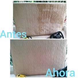 Lavado de muebles, colchones, alfombras, overhaul y mas
