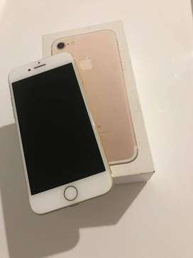 Iphone 7 32 GB Dorado en perfecto estado
