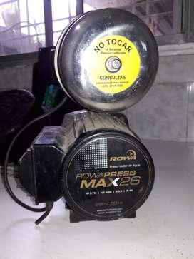 Bomba presurisador de agua Rowa press Max 26