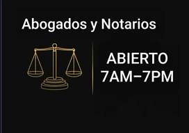 Notariado y defensas judiciales