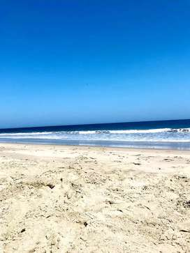 Terreno frente al mar. Playa hermosa TUMBES