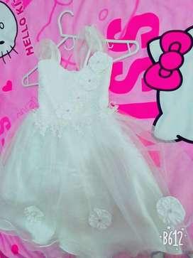 Hermoso Vestido de Princesa Blanco