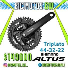 Triplato Shimano Altus 3x9