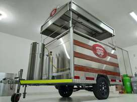 Food Truck - Parrilla Mobil - Listo para Trabajar - Full Acero Inoxidable (Negociable))