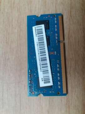 Memoria ram 2gb ddr3 portatil