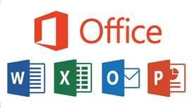 Instalación de Paquete Office (Via Internet desde su casa)