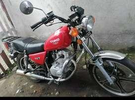 De oportunidad vendo moto tuko.