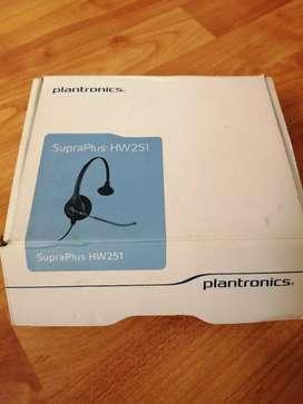 Plantronics supraplus HW 251auriculares para teléfono fijo o pc
