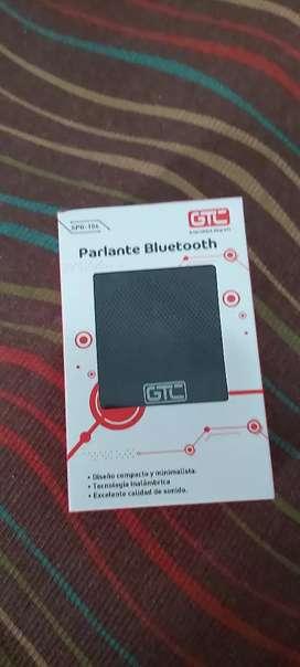 Mini parlantes con bluetooth diseño compacto tecnología inalámbrica excelente sonido