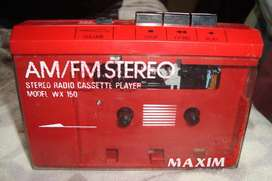 Walkman Casette Radio AmFm de los Años 80