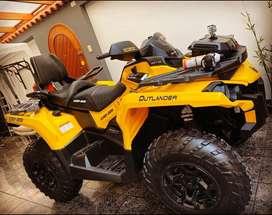 Cuatrimoto can am outlander 650 max v-twin rotax