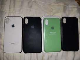 Protectores silicona iphone x