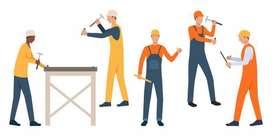 Se necesita personal joven con experiencia en construcción