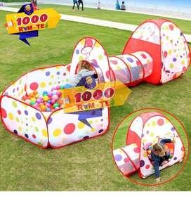 Carpa Túnel 3 en 1 Para Niños
