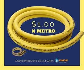Manguera por metros de gas amarilla Brasileña