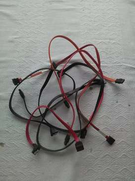 Cables sata para pc de mesa diferentes colores