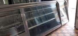 Nevera vitrina exibidora comgeladora y verdurera 4 mtrs