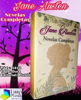 Jane Austen, novelas completas. Plutón tapa dura