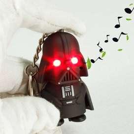 Star Wars Darth Vader Llavero Con Sonido Y Luz