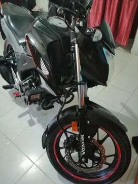 Se vende hermosa moto honda cb 160