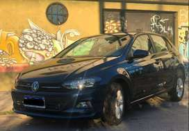 Volkswagen Nuevo Polo 1.6 Conforline 2018 Azul Noche