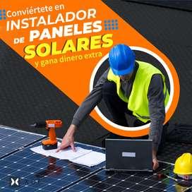 Curso Completo de Generación de Energía Eléctrica a Partir de Paneles Solares y Sistemas Fotovoltaicos.