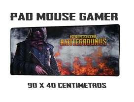 Pad Mouse Gamer Extra Grande 90 X 40 Antideslizante Motivos