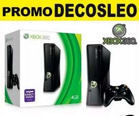 Consolas XBOX 360 ORIGINALES USADAS Y NUEVAS para día del niño MUCHOS MODELOS