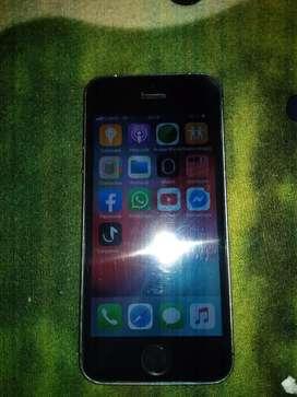Vendo o cambio iPhone 5s en buen estado libre de iCloud