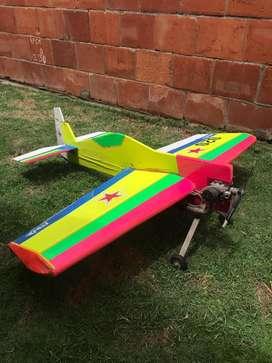 Aeromodelo Aceobatico Rc sin Control
