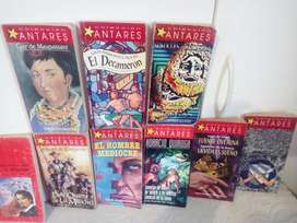 Coleccion de Libros Antares Literatura