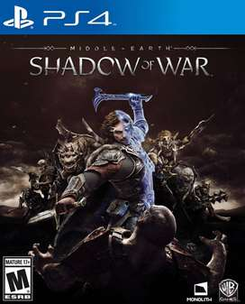 Middle Earth: Shadow Of War Playstation 4 Ps4, Físico