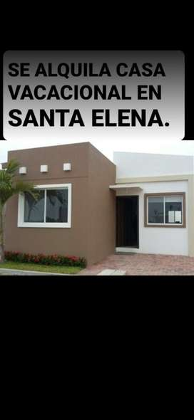 Alquilo x Dia casa en Santa Elena