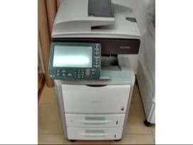 venta fotocopiadora ricoh a blanco y negro, ultima tecnologia