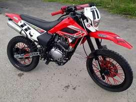 Vendo moto marca shineray