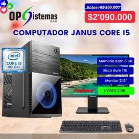 COMPUTADOR DE MESA JANUS / CORE I5 / 8GB 1TB / T.VIDEO 2GB