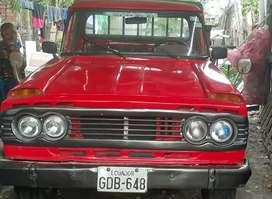 De oportunidad se vende una Camioneta ,marca toyota ,año 1977,matríula al año,motor reparado,carrocería buena.