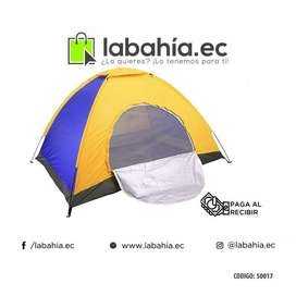 Carpa para 4 personas de camping 2mtrs