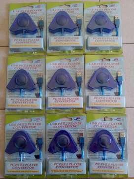 Adaptador Conversor Doble joystick Gamepad Play 2 Play 3 PC Ps2 Ps3 ACEPTO TARJETAS ENVÍO ROSARIO ALREDEDORES E INTERIOR