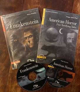 American Horror Tales + Frankenstein + 2 CDs - Level B2