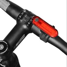 Luz Recargable Usb Led Bicicleta Ajustable 4 Tonos