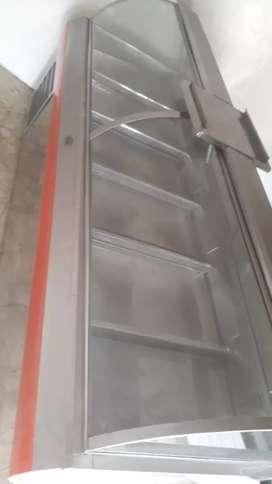 Gondola en acero de 2.50 de largo en acero y bodega