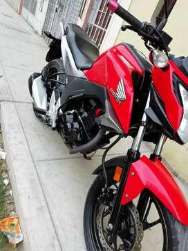 Vendo moto honda cb160
