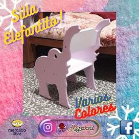 Silla Infantil Elefante
