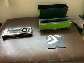 Nvidia GTX 1070 de 8gb usada en Gaming. Estado 8/10. Totalmente funcional. Sin garantía.