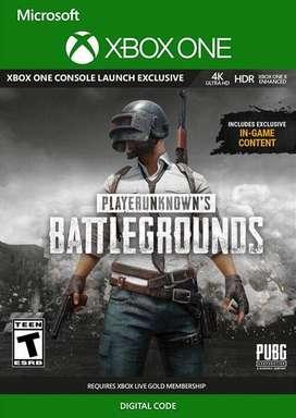 Pubg Xbox One player unknown battlegrounds Codigo